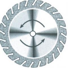 Disques diamantés crantés 705 fin Superflex  Edenta 200705