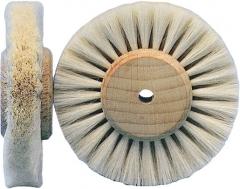 Brosse en poil de chèvre blanc   200415