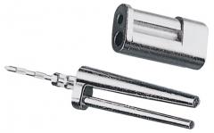 Bi-pin avec gaine et pointe à insertion Bi-pin court N° 323 Renfert 200182