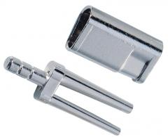 Bi-V-Pin avec gaine et profilé en V N° 328  Renfert 200190