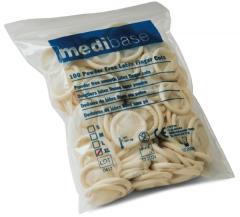 Doigtiers en latex sans poudre  medibase 162639